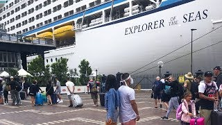 BOARDING THE ROYAL CARIBBEAN EXPLORER OF THE SEAS | SOUTH PACIFIC CRUISE 2019