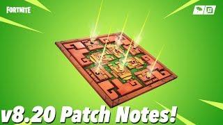 v8.20 Patch Notes! (FORTNITE)