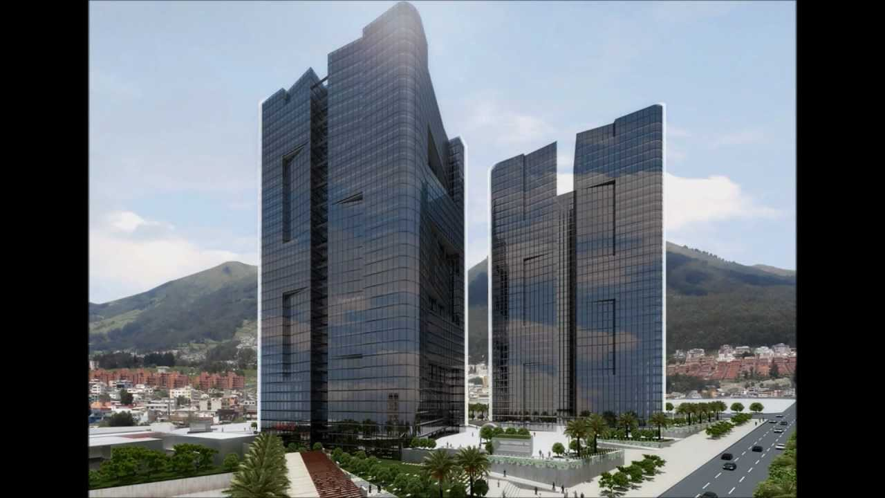 Elit centro de negocios quito youtube for Edificio puerta del sol quito