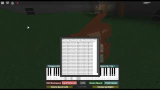 Running in the 90's - Initial D by: Maurizio DeJorio on a ROBLOX piano.