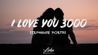 Stephanie Poetri - I Love You 3000  Lyrics