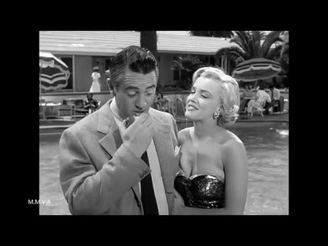 "Marilyn Monroe At The Pool And Behind The Scenes Footage - ""Let's Make It Legal"""