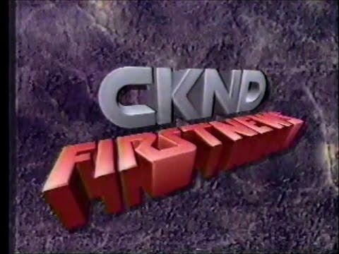 CKND Firstnews (December 12, 1990)