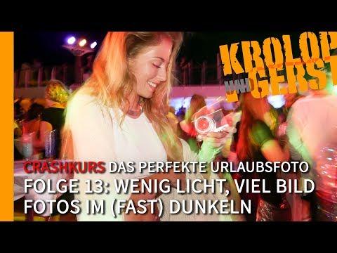 """Crashkurs """"Das perfekte Urlaubsfoto"""" 🌴 Folge 13 🌴 Wenig Licht, viel Bild 📷 K&G"""