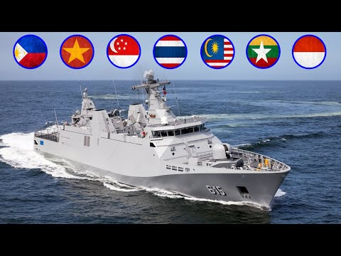 7 Countries with the most Corvette ships in Southeast Asia
