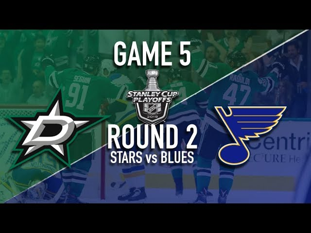 Dallas Stars @ St Louis Blues | Round 2 | Game 5 Stanley Cup Playoffs 2019