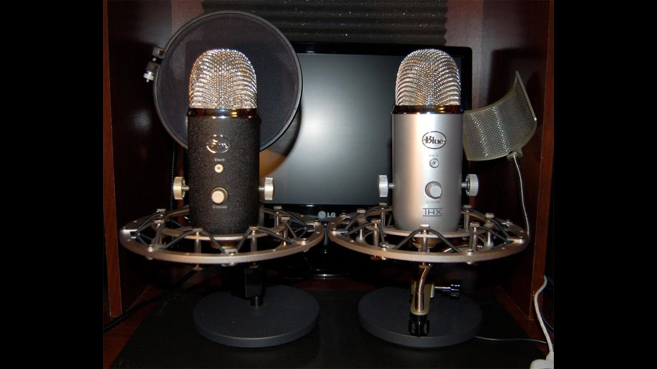 Blue Yeti Usb Microphone Unboxing Amp Test Review New
