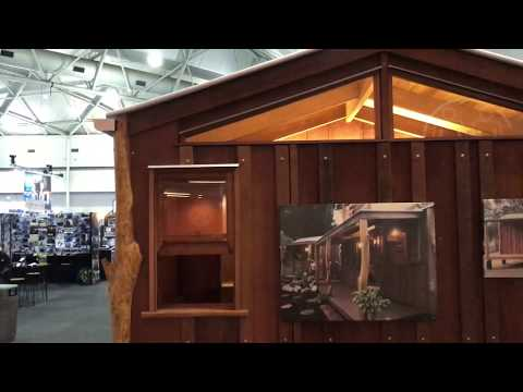 Bush Hut By Timber Transitions   Brisbane Home Show
