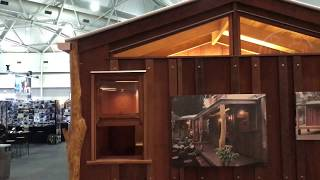 Bush Hut by Timber Transitions | Brisbane Home Show