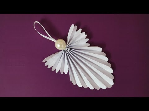 DIY Christmas Angel | How To Make A Paper Angel For Christmas Decorations