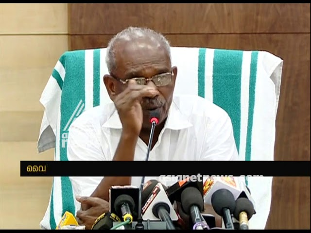 MM Mani press meet 14 Aug 2018