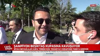 Beşiktaş Asbaşkanı Emre Kocadağ Şampiyonluk Kutlmasında Konuştu