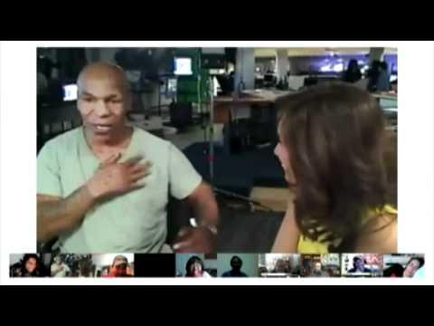 "Fox 11 Google+ Hangout: ""Iron"" Mike Tyson"