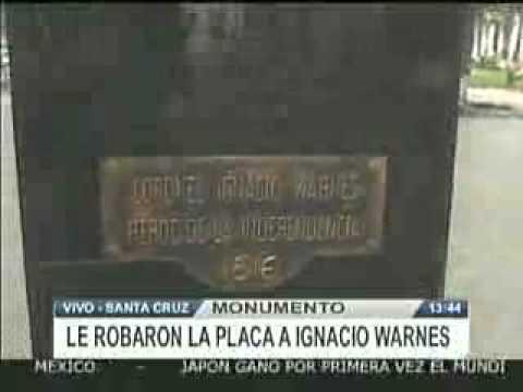 LE ROBARON LA PLACA A IGNACIO WARNES @ RED PAT BOLIVIA