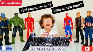 Yenilmezler End Game | Yeni Kahraman Kaptan Türkiye mi | Avengers End Game New Hero Captain Turk