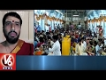 Devotees Throng To Basara Temple On The Eve Of Vasant Panchami | V6 News