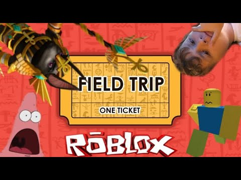 Escaping the Scary Museum! #Roblox #FieldTrip #Fun