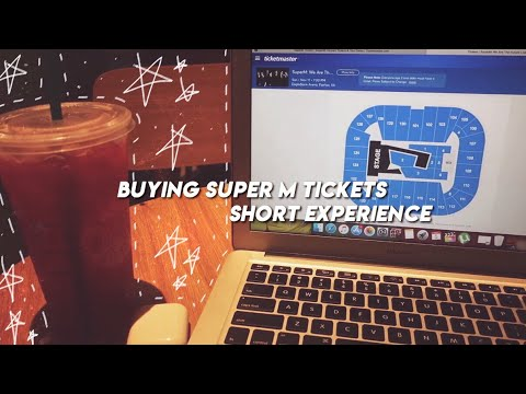 SUPER SHORT SUPER M TICKETING EXPERINCE ♡