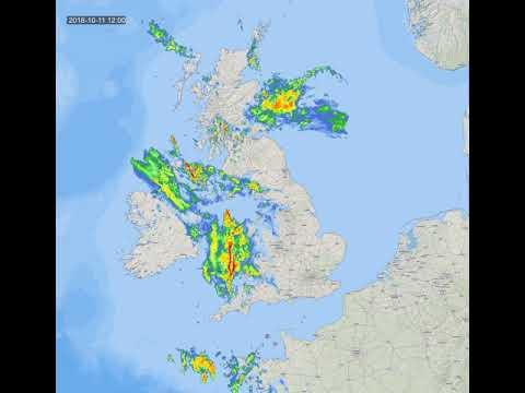 uk rain radar
