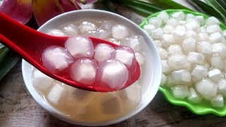 Bật Mí Cách Làm Trân Châu Nhân Dừa Nhanh Nhất | Góc Bếp Nhỏ