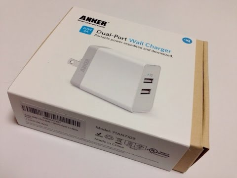 Anker 20w 2 Port Usb Wall Charger Review Youtube