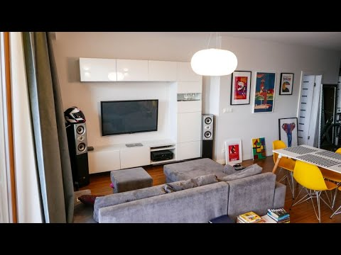 Best Simple 45 sqm modern apartment home interior design ideas 2019
