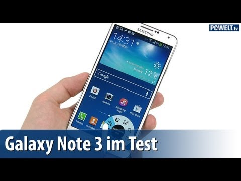 Samsung Galaxy Note 3 im PC-WELT-Test | deutsch / german