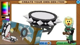 If You Could Create Your Own Den Item In Animal Jam