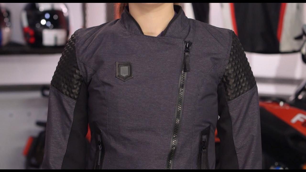 ICON 1000 Tuscadero Women's Jacket Review at RevZilla.com ...