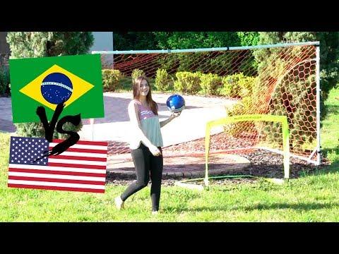 BRASIL VS ESTADOS UNIDOS: QUEM E MELHOR NO FUTEBOL?   Afreim