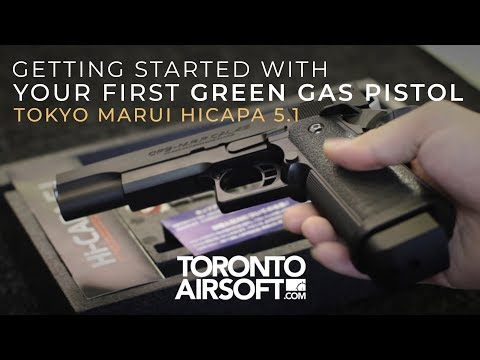 HOW TO: Getting Started With Your First Green Gas Pistol - Torontoairsoft.com