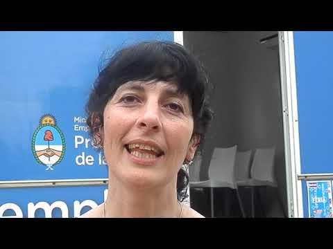 Fomento de Empleo Joven- Cecilia Fusari- Fernando Bono- Comuna de Nueve de Julio