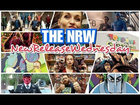 THE #NRW! Nazis & Cosplay! Toys'R'Us! Orville! Star Trek! Comics! @TheNRW