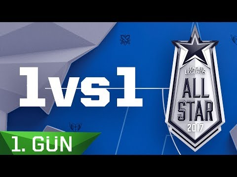 1v1 Maç Özetleri   2017 All-Star 1. Gün