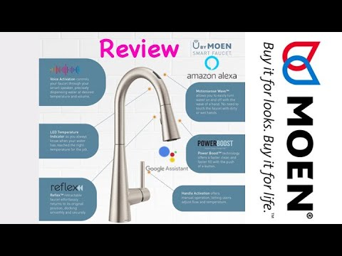 best smart faucet u by moen review