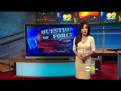 Sharon Tay 2011/09/28 8PM KCAL9 HD; Tight white top