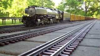 Aster Challenger & Big Boy UP Steam power
