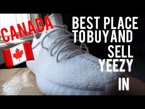 Where To Buy Yeezys In Canada?
