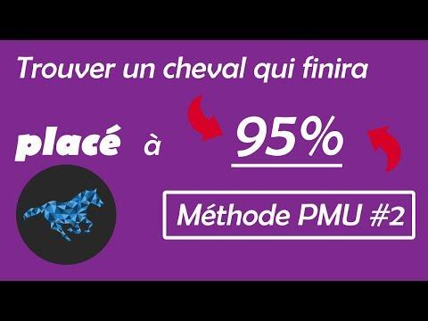 [METHODE PMU #2] Trouver un cheval qui finira à 95% dans les 3 premiers