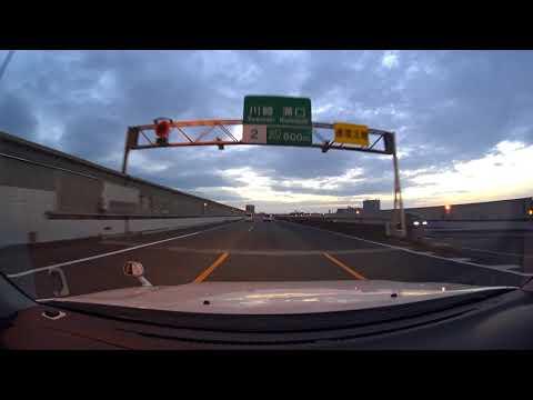 Yokohama drive 4K 第三京浜 ドライブ 2017