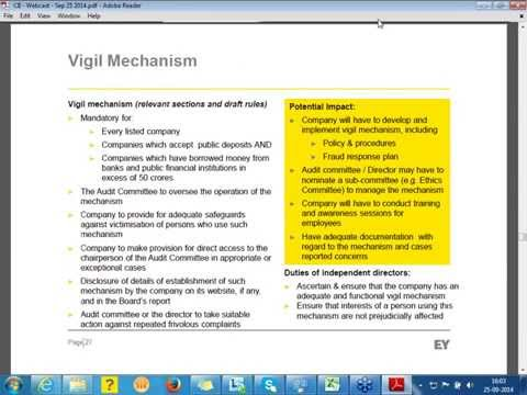 AMENDMENTS IN COMPANIES ACT-2013 : Focus on Fraud Forensic Investigation