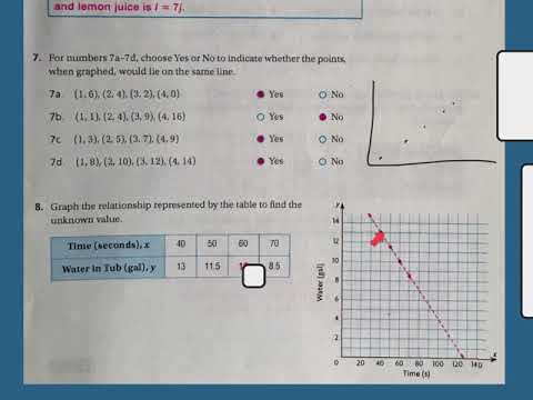 Chapter 9 Review Test 5th Grade Answer Key