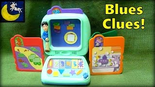 Blue's Clues Learning Lessons Computer Game Toy from 2000
