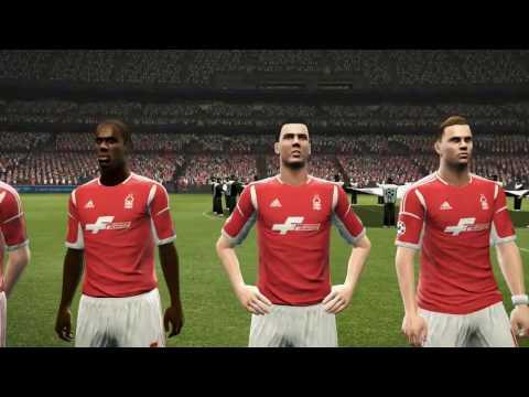 Nottingham Forest vs. Manchester United | UEFA Champions League Final | PES 2013 Master League