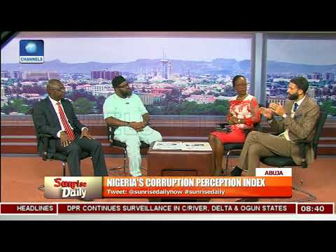Analising Nigeria's Corruption Perception Index Pt.3 |Sunrise Daily|
