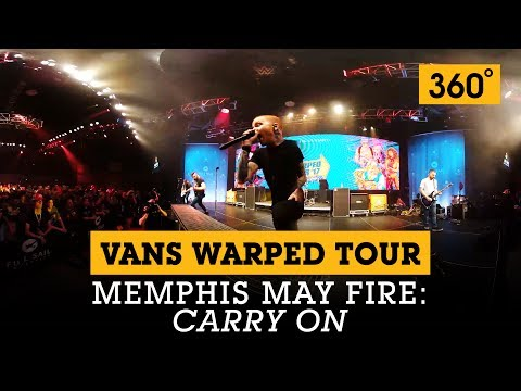 360 Video: Memphis May Fire - 'Carry On' at the Vans Warped Tour Lineup Announcement | Full Sail