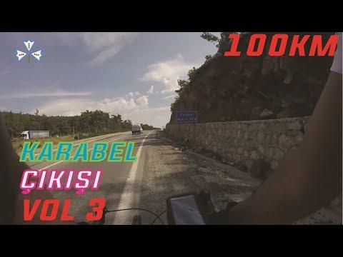 Bisiklet Turu Izmir Vol 3 - Karabel 450m RAKIM !!! 100 Km Bisiklet Gezisi