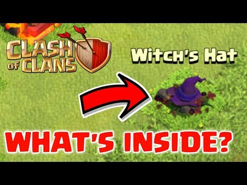 WHAT'S INSIDE WITCH'S HAT? CLASH OF CLANS INDIA