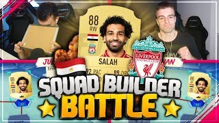 FIFA 19: 88 SALAH Squad Builder Battle 😱🔥
