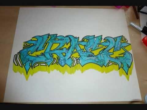 Learn To Draw Graffiti Beginner